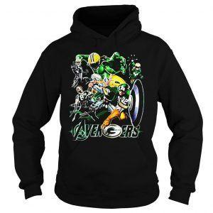 Marvel Avengers Green Hoodie DAP