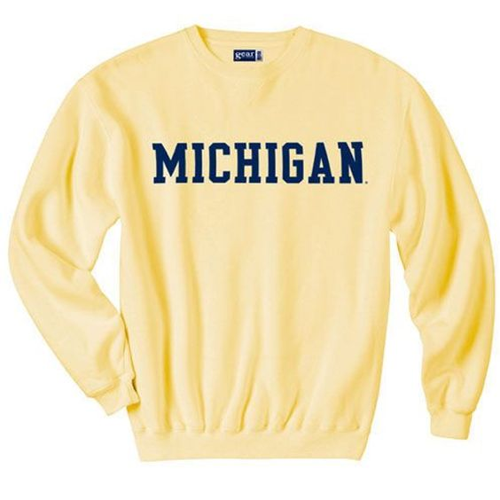 Michigan sweatshirt DAP
