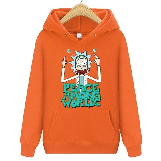 New 2019 Rick and Morty Hoodie DAP
