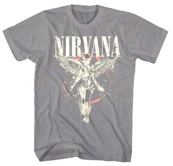 Nirvana Galaxy In Utero Tshirt DAP