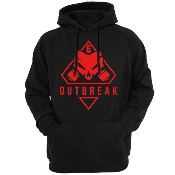 Rainbow Six Siege Operation Chimera Logo Hoodie DAP
