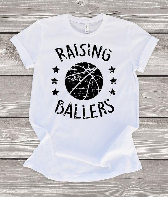 Raising Ballers Basketball T-Shirt DAP