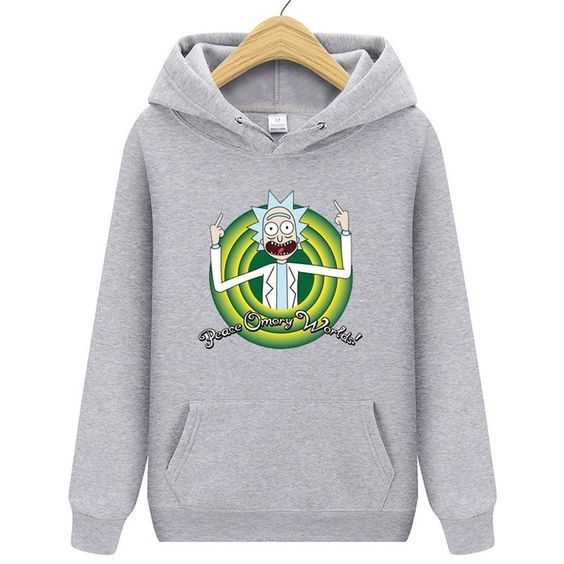 Rick And Morty Men Hoodie DAP