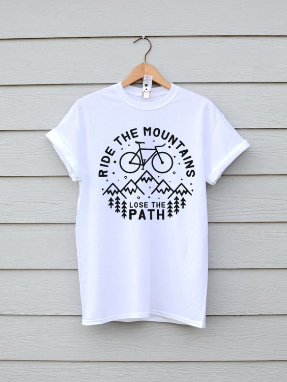 Ride The Mountains T-shirt DAP