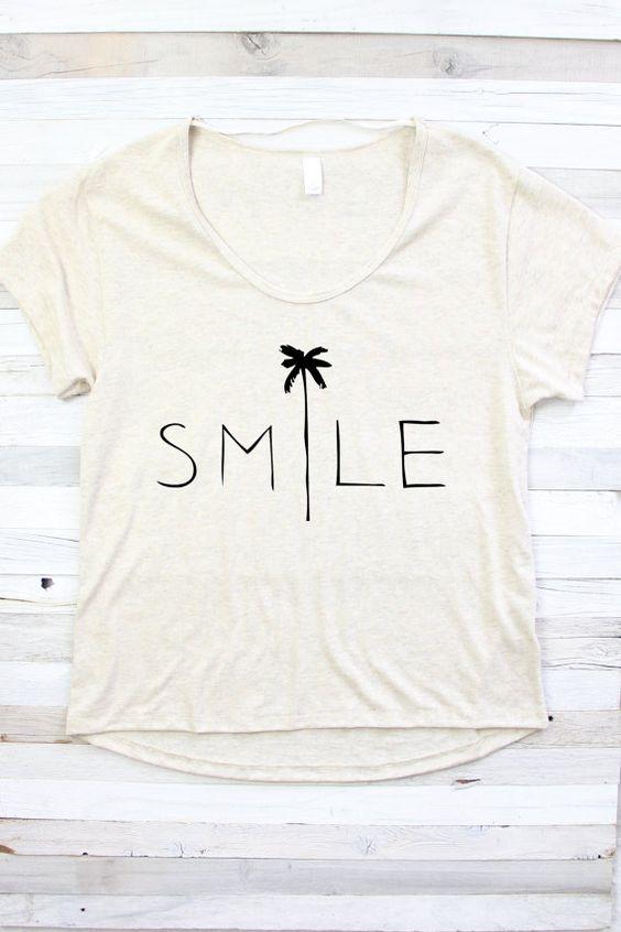 SMILE Tshirt DAP