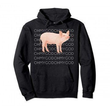 Shane Dawson Oh My God Pig Hoodie DAP