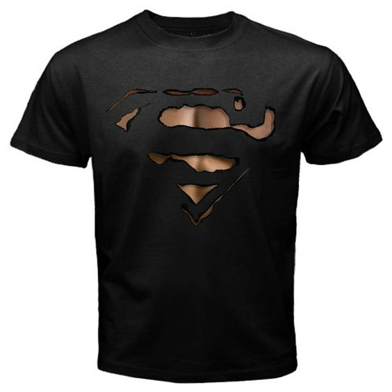 Superman Burn Out T-Shirt DAP
