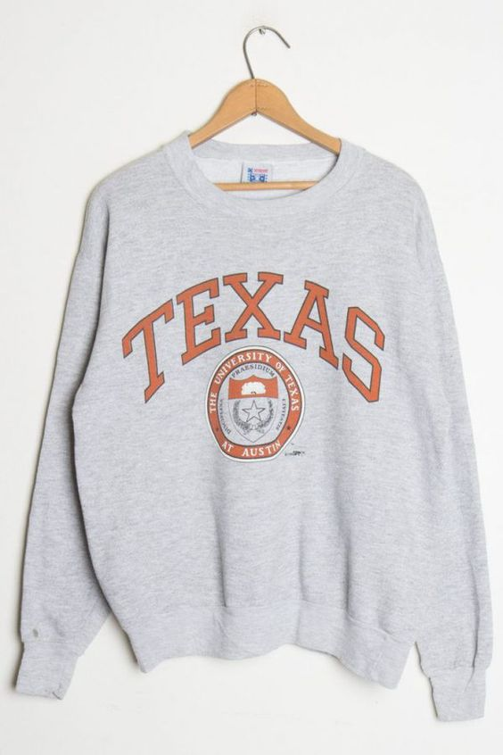TEXAS University The Texas At Austin Sweatshirt DAPTEXAS University The Texas At Austin Sweatshirt DAP