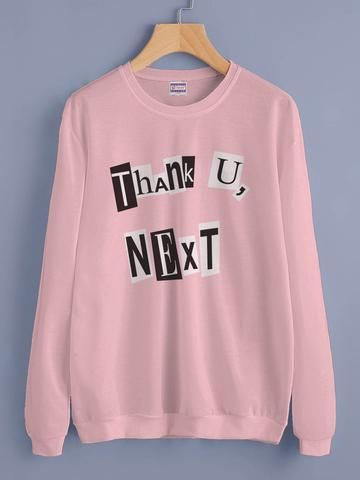 Thank You Next Sweatshirt DAP