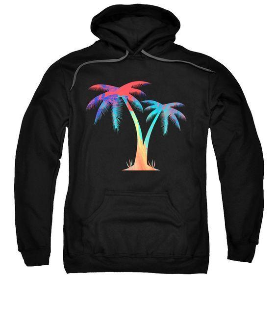 Tropical Palm Trees Hoodie DAP