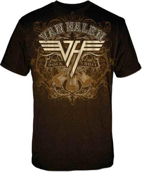 Van Halen Rock N Roll T-Shirt DAP