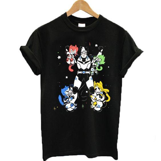 Voltron Legendary DadfendeVoltron Legendary Dadfender T-shirt DAPr T-shirt DAP