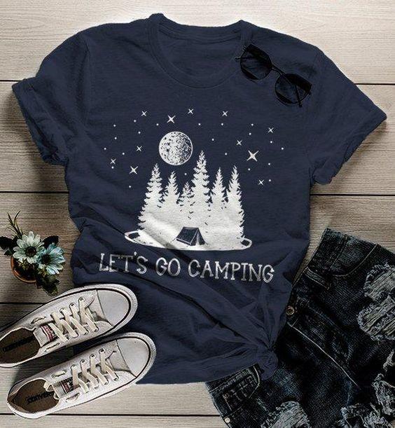 Women's Camping T Shirt DAP
