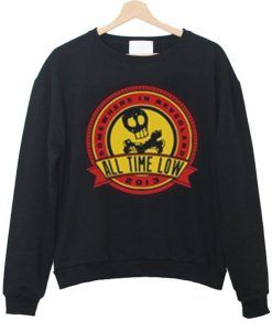 all time low sweatshirt DAP
