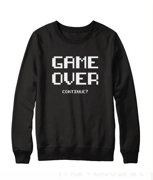 game Over sweatshirt DAP