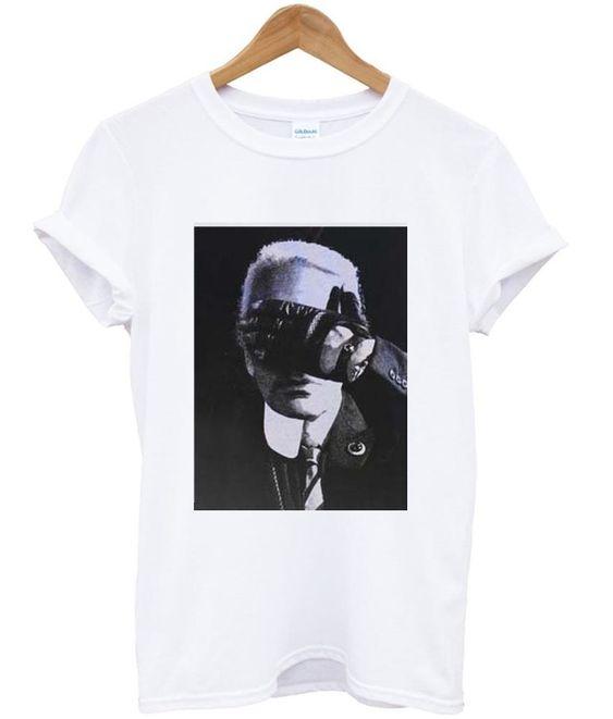 karl lagerfeld black and white T Shirt DAP