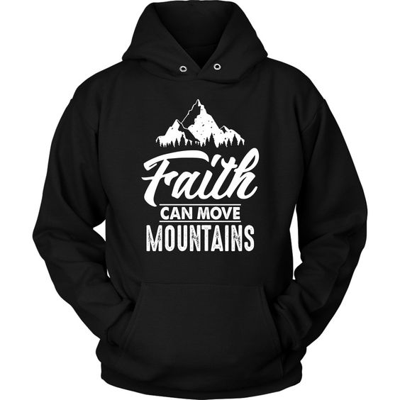 mountains christian faith hoodie DAP