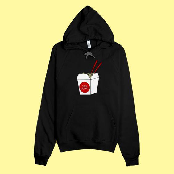 send noodles hoodie DAP