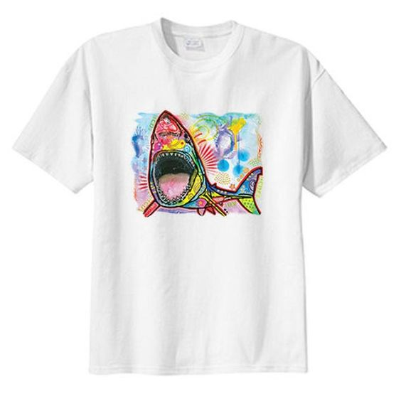 Artsy Shark New T Shirt DAP