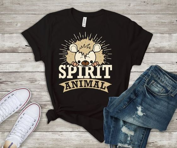 Items similar to Hedgehog Tshirt,DAP