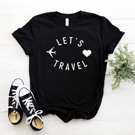 Let's Travel T-shirt DAP