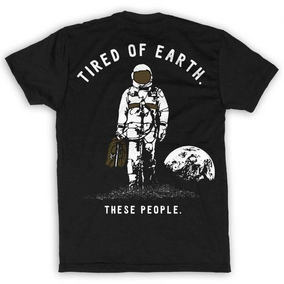 Men's NASA Tired of Earth T-ShirtDAP