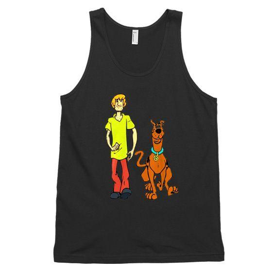 Scooby Doo Unisex Tank Top DAP