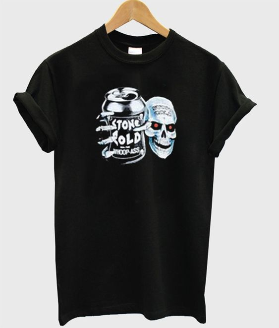 Stone Cold Steve Austin 100% Pure Whoop Ass Skull T-shirt DAP