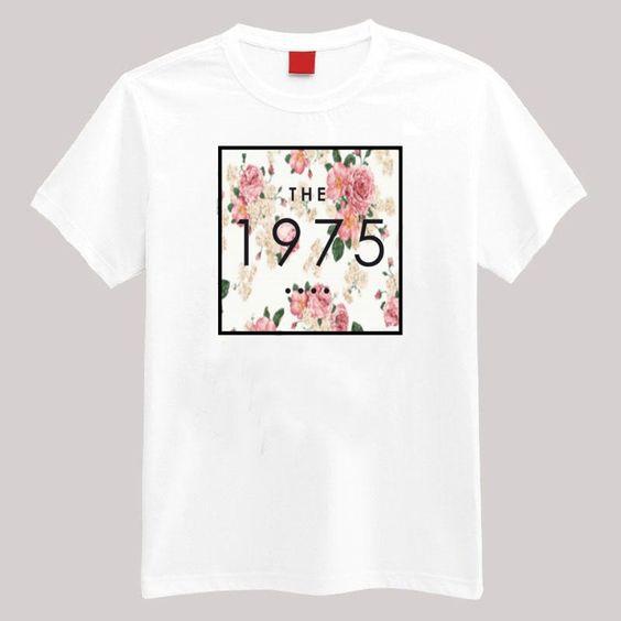 The 1975 Floral T Shirt DAP