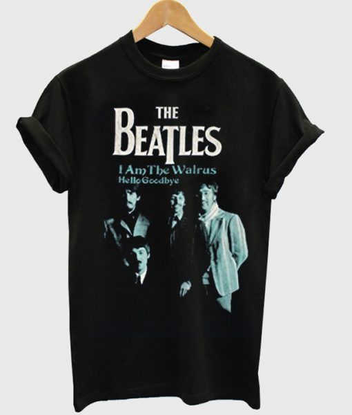 The beatles i am the walrus hello goodbye t-shirt DAP