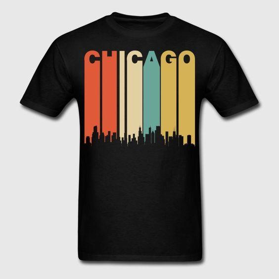 This retro style Chicago T-Shirt DAP