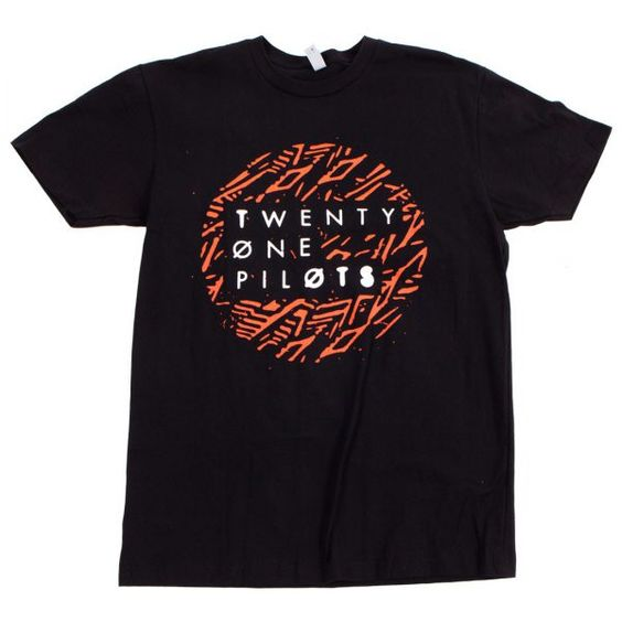 Twenty One Pilots Lane Dot T Shirt DAP