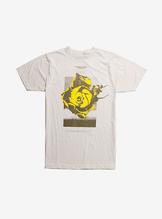 Twenty One Pilots Yellow Flower T-Shirt DAP
