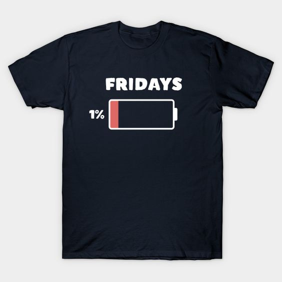 tgif thank god it's friday work humor t-shirtDAP