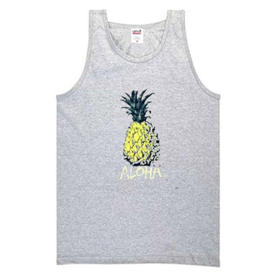 aloha pineapple tanktopDAP