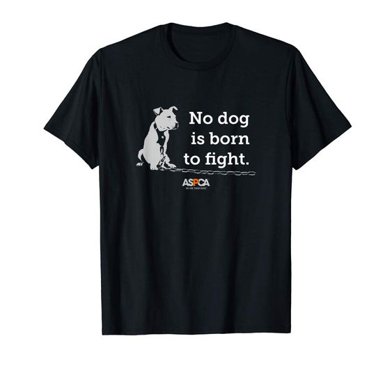 ASPCA No Dog is Born to Fight Men's T-Shirt DAPP