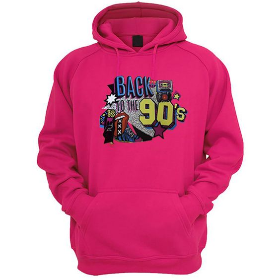 Back To The 90's Hoodie DAP