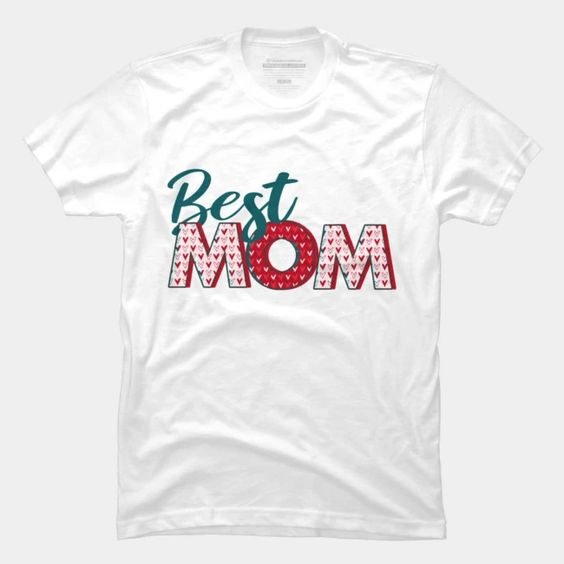 Best MOM Art T-Shirt DAP