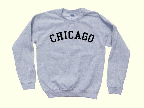 CHICAGO - Illinois Crewneck Pride Sweatshirt DAP