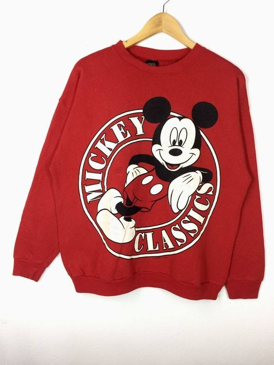 Cartoon Walt Disney Sweatshirt ZNF08