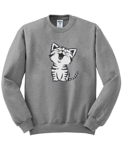 Cat Sweatshirt DAP