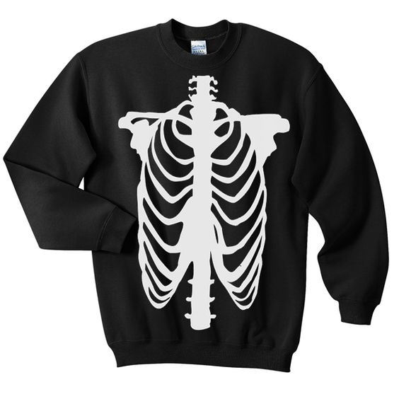 Chest Skeleton Sweatshirt DAP