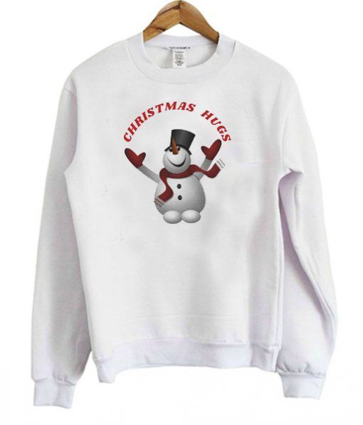 Christmas HUGS SWEATSHIRT DAP
