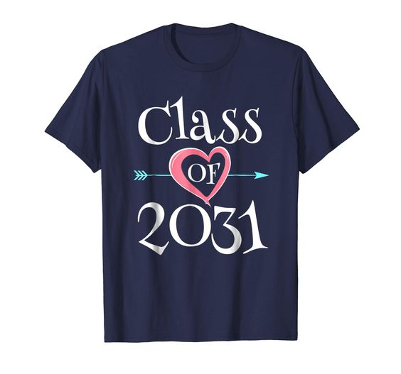 Class of 2031 Grow With Me Shirt DAP