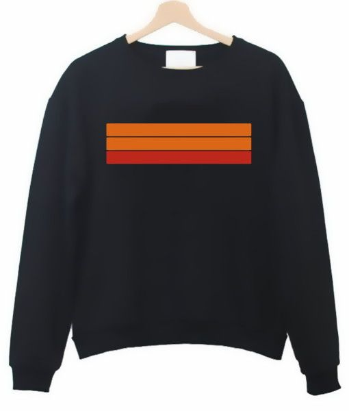 Color Strips Sweatshirt DAP