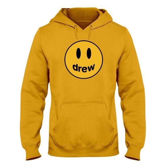 Drew House Yellow Hoodie DAP
