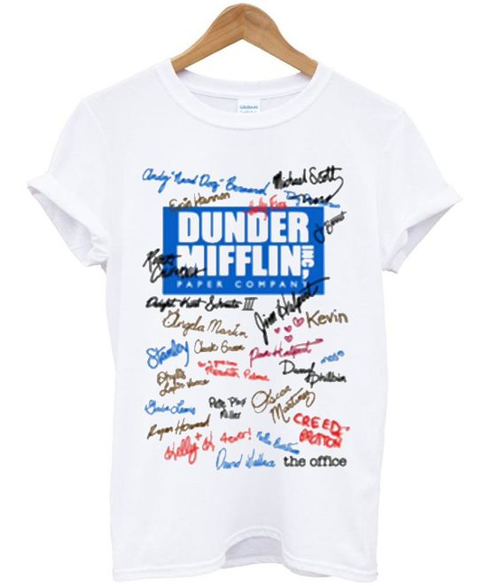 Dunder mifflin the office t-shirt DAP