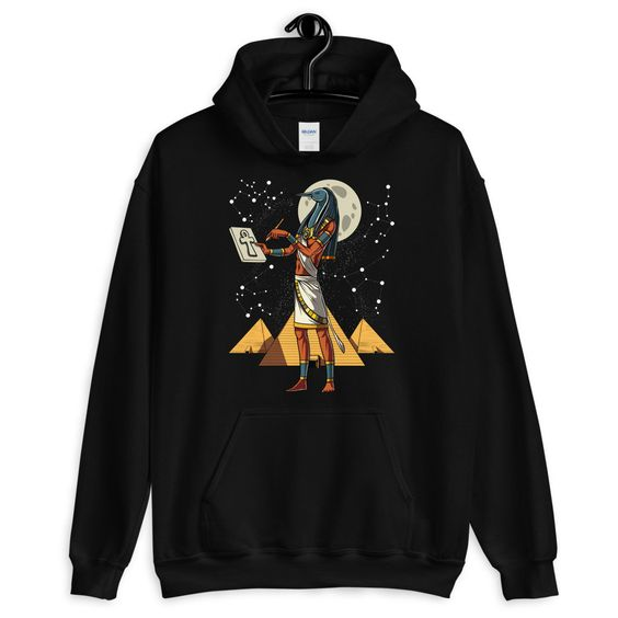 Egyptian God Thoth Hoodie DAP