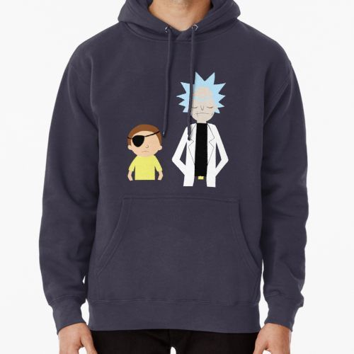 'Evil Rick and Morty Hoodie DAP