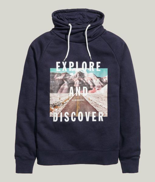 Explore and Discover Hoodie DAP